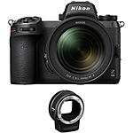 Nikon Z6 II Mirrorless Digital Camera with 24-70mm f/4 Lens  and  FTZ Adapter
