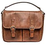 Nikon 100th Anniversary Edition Premium Leather Bag - Brown