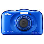 Nikon COOLPIX W100 Digital Camera - Blue