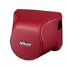 Nikon CB-N2200S Red Body Case Set for Nikon 1 J3/S1 Cameras