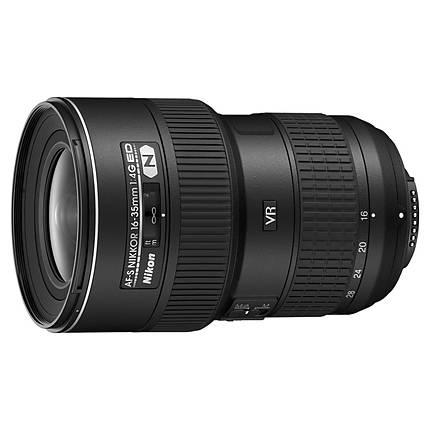 Nikon AF-S Nikkor 16-35mm f/4G ED VR Wide Angle Zoom Lens - Black