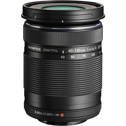 Olympus M.Zuiko ED 40-150mm f/4.0-5.6 R Telephoto Lens - Black