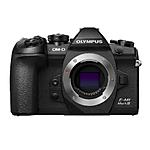 Olympus OM-D E-M1 Mark III Mirrorless Camera (Black, Body Only)