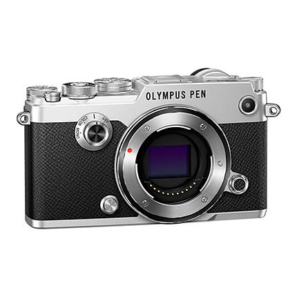 Olympus PEN-F Micro Four Thirds Camera Body Only - Silver