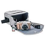 Olympus E-PL9 Honey Brown Body w/ Silver 14-42mm Lens, Case, Strap, SD Card