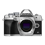 Olympus OM-D E-M10 Mark IV Mirrorless Micro 4/3 Camera (Body Only, Silver)
