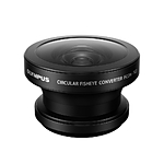 Olympus FCON-T02 Circular Fisheye Converter  and  CLA-T01 Adapter Tough Pack Kit