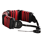 Olympus Fashion Black with Red Stripes Float Strap