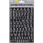 Pioneer Self-Adhesive 3-D Letters - Silver