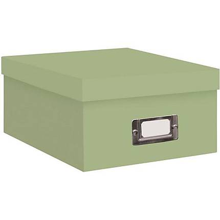 Pioneer Photo Albums 4x7 Photo Storage Box - Green