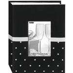 Pioneer Celebration Embroidered Frame Photo Album (100 4x6 photos) - Black