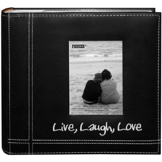 Pioneer 4 x 6 In. Live, Love, Laugh Photo Album (200 Photos ...