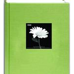 Pioneer 4 x 6 In. Fabric Frame Bi-Directional Photo Album (300 Photos)-Green