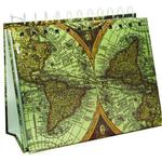 Pioneer 4 x 6 In. Ancient World Map Mini Photo Album Easel (50 Photos)