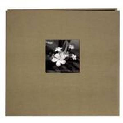 Pioneer 12 x 12 In. Silk Frame Scrapbook (20 Pages)