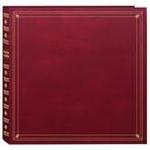 Pioneer 4 x 6 In. Full Size Memo Pocket Photo Album (300 Photos) - Burgundy