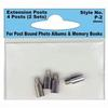 Pioneer Photo Album Extension Posts for Xpando (4 8MM Posts)