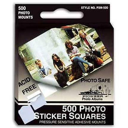Pioneer Photo Mounts Self-Stick Tabs (500 Tabs)