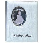 Pioneer 4 x 6 In. Oval Framed Wedding Memo Album (200 Photos)