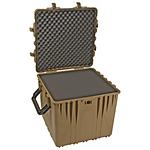 Pelican 0370 24in Cube Case with Foam (Desert Tan)