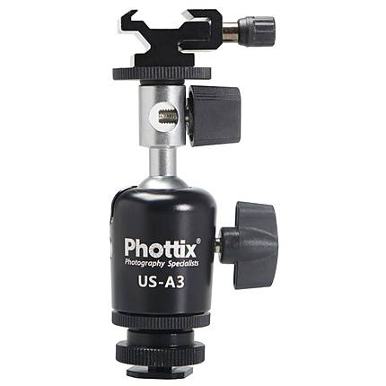 Phottix Umbrella Swivel US-A3 With BallHead