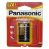 Panasonic Alkaline Plus 9V Battery 1 Pack