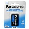 Panasonic Super Heavy Duty 9v Battery 1 Pack