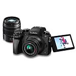 Panasonic LUMIX G7 4K Mirrorless Camera with 14-42mm  and  45-150mm Lenses