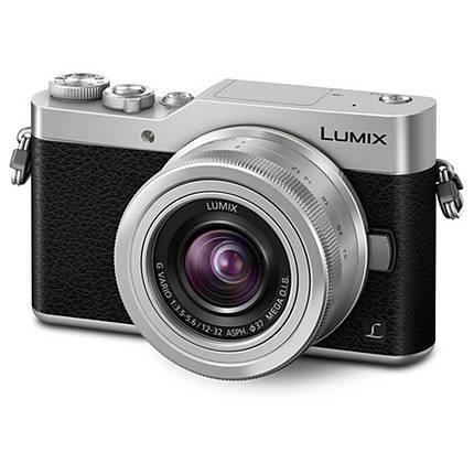 Panasonic Lumix DC-GX850 Micro 4/3 Mirrorless Camera with 12-32mm Silver