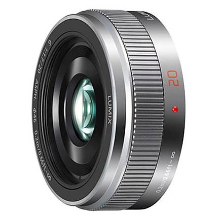 Panasonic Lumix G 20mm f/1.7 II ASPH. Standard Lens - Silver
