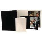 Unique Photomounts 4x6 Black SR Slip Folder (25)