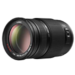 Panasonic Lumix G Vario 100-300mm f/4.0-5.6 Mega O.I.S Zoom Lens - Black