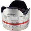 Rokinon 7.5mm f/3.5 Ultra Wide-Angle Fisheye Lens for Micro 4/3 (Silver)