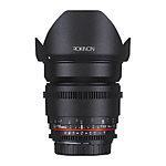 Rokinon 16mm T2.2 APS-C  Cine DS Lens for Micro Four Thirds
