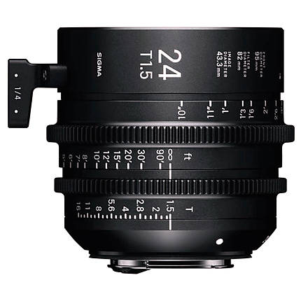 Sigma 24mm T1.5 FF High-Speed Prime Lens (Canon EF)