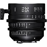 Sigma 35mm T1.5 Fully Luminous FF High-Speed Prime Lens (PL)
