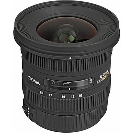 Sigma EX DC HSM 10-20mm f/3.5 Wide Angle Lens for Canon - Black