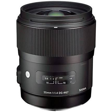 Sigma DG HSM ART 35mm f/1.4 Standard Lens for Nikon - Black