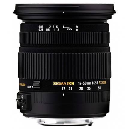 Sigma EX DC (OS) HSM 17-50mm f/2.8 Standard Zoom Lens for Pentax - Black