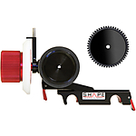 Shape Friction  and  Gear Follow-Focus Clic with Adjustable Marker