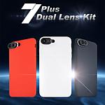 Mobile Phone Case DL-7PR  Red iPhone 7 plus case (Red) Duel Lens