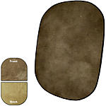 Savage 60x72 Reversible Collapsible Background - Earth Tone