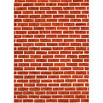 Savage 5x7 Red Brick Floor Drop