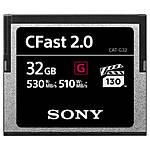 Sony 32GB CFast 2.0 G Series Memory Card