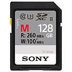 Sony 128GB M Series UHS-II SDXC Class 10 Memory Card (U3)