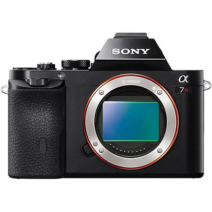 Sony Alpha a7R 36.4MP Full Frame Mirrorless Camera (Body Only)-Black