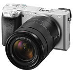 Sony a6300 Mirrorless Interchangeable-Lens Camera w/ 18-135mm Lens (Silver)