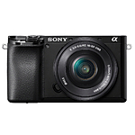 Sony Alpha a6100 APS-C Mirrorless Digital Camera with 16-50mm Lens