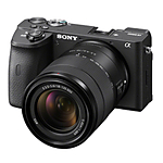 Sony Alpha a6600 APS-C Mirrorless Digital Camera with 18-135mm Lens
