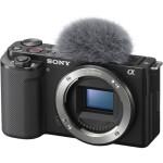 Sony ZV-E10 Mirrorless Camera (Body Only, Black)